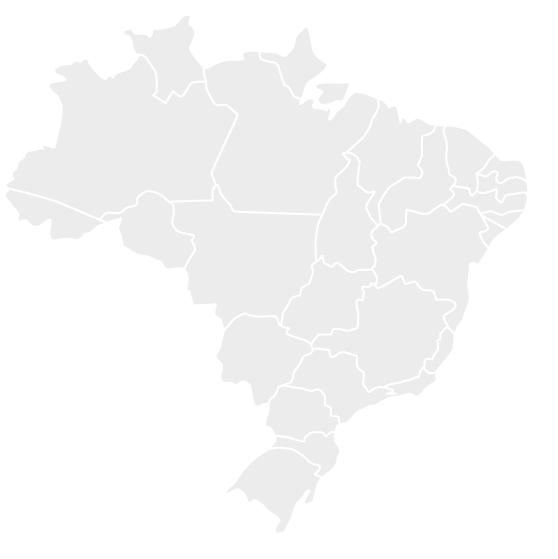 Mapa de Representantes no Brasil